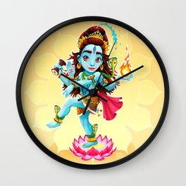 Dance of Shiva Wall Clock