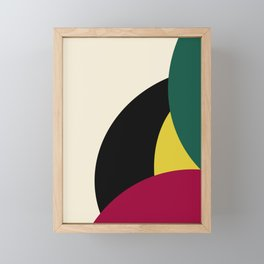 Abstract # 27 Framed Mini Art Print