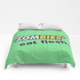 Zombie Eat flesh Comforters