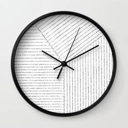 Lines Art Wall Clock