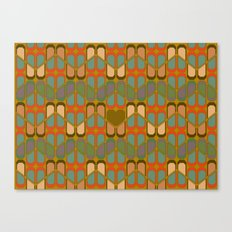 Love pattern Canvas Print