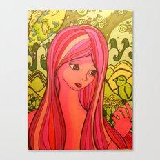 girlie girl   Canvas Print