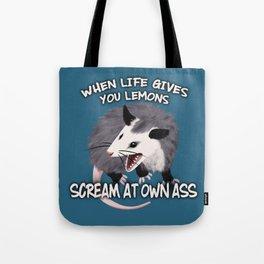 Possum Wisdom Tote Bag