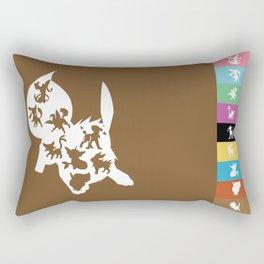 Eeveelutions Rectangular Pillow