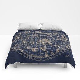 Gold Ceiling | Zodiac Skies Comforters