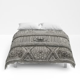 Islamic Design Roof Damascus Carving Comforters