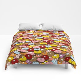 Donut time Comforters