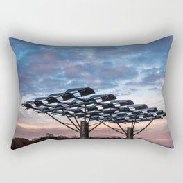 Manmade vs Nature Rectangular Pillow