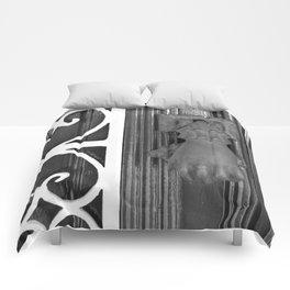 BLACK KNOCKER Comforters