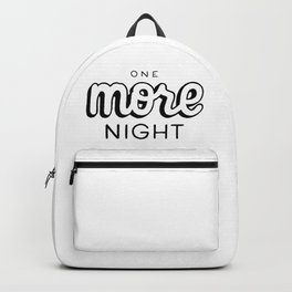 One more night Backpack