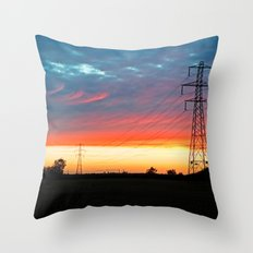 The Warmth Of Lincolnshire Throw Pillow