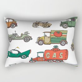 old cars Rectangular Pillow