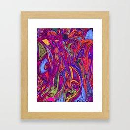 Constant Flow- Color Framed Art Print
