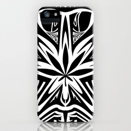 bud  buggin black iPhone Case