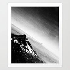 Oregon Mountains Art Print