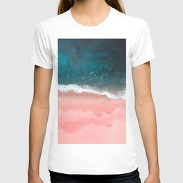 Turquoise Sea Pastel Beach III T-shirt
