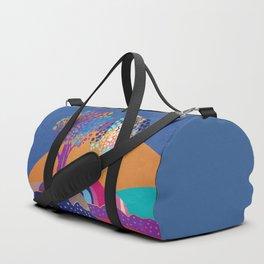 Retro trees II Duffle Bag