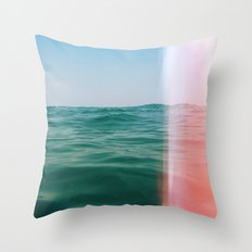 Whisper of Waves Throw Pillow