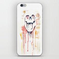 skull drips  iPhone & iPod Skin