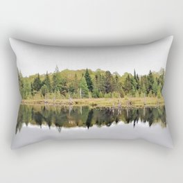 When A Tree Falls In The Forest: Soundwave Rectangular Pillow