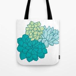 Succulent Cluster Tote Bag