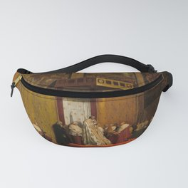 Pope Pius VII in the Sistine Chapel Oil Painting by Jean-Auguste-Dominique Ingres Fanny Pack
