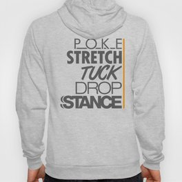 POKE STRETCH TUCK DROP STANCE v4 HQvector Hoody