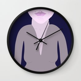 Independent Woman Wall Clock