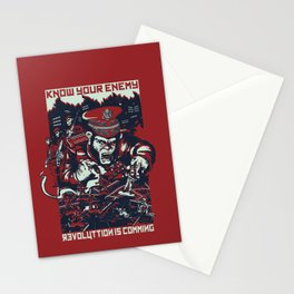 Know your enemy Stationery Cards