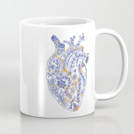 Kintsugi broken heart Coffee Mug