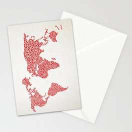 Love, You Are My World Stationery Cards