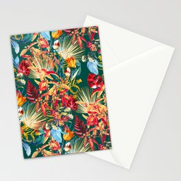 Exotic Garden Multicolor Stationery Cards