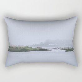 Misty Island Rectangular Pillow