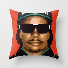 Compton city G Throw Pillow