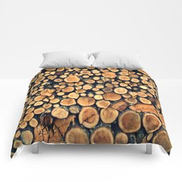 Pattern WOODS Comforters