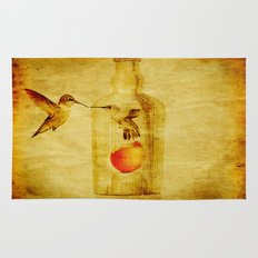 The lovers hummingbird Rug