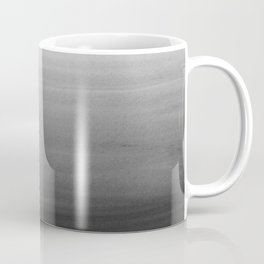 Touching Black Gray White Watercolor Abstract #1 #painting #decor #art #society6 Coffee Mug