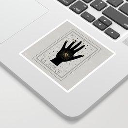 La Justice or The Justice Tarot Sticker