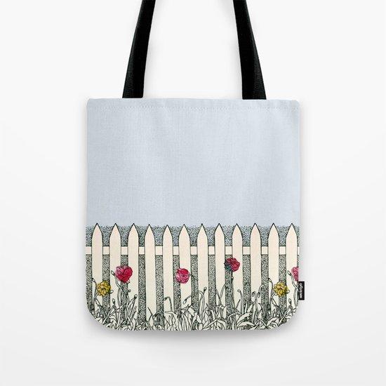 Where the Roses Grow Tote Bag