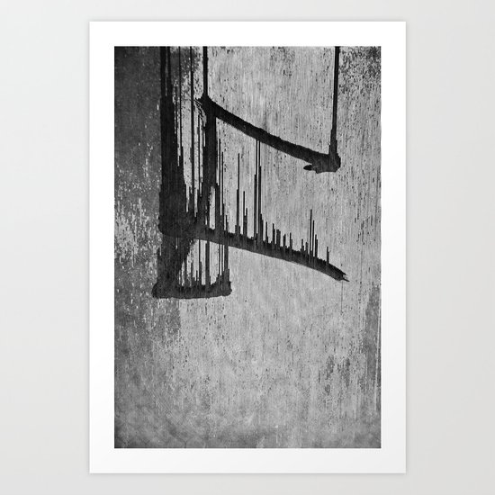 Dripping Up Art Print
