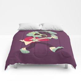 Rockabilly Bunny Comforters