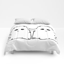 Ghost Friend Comforters