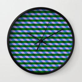 Color_Stripe_2019_002 Wall Clock