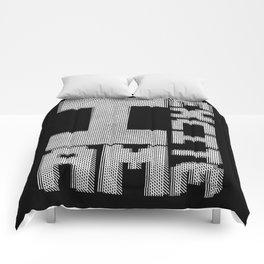 I AM EXCITE Comforters