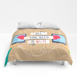 All you need is...) Comforters
