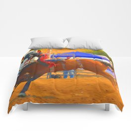 Up And Over Comforters