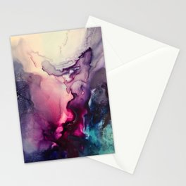 Mission Fusion - Mixed Media Painting Stationery Cards