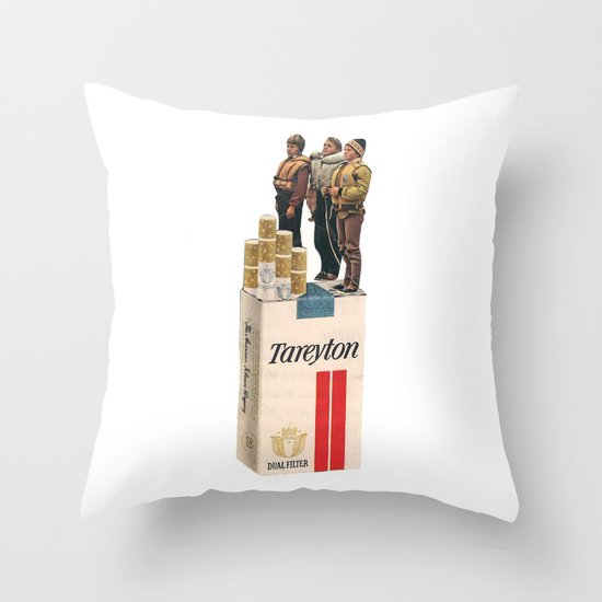 Onward and Upward Throw Pillow