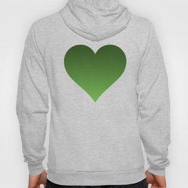 Green Ombré Gradient Hoody