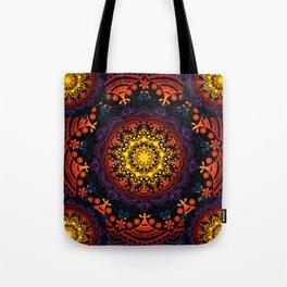'Bohemian Summer' Multi-Coloured Mandala Tote Bag